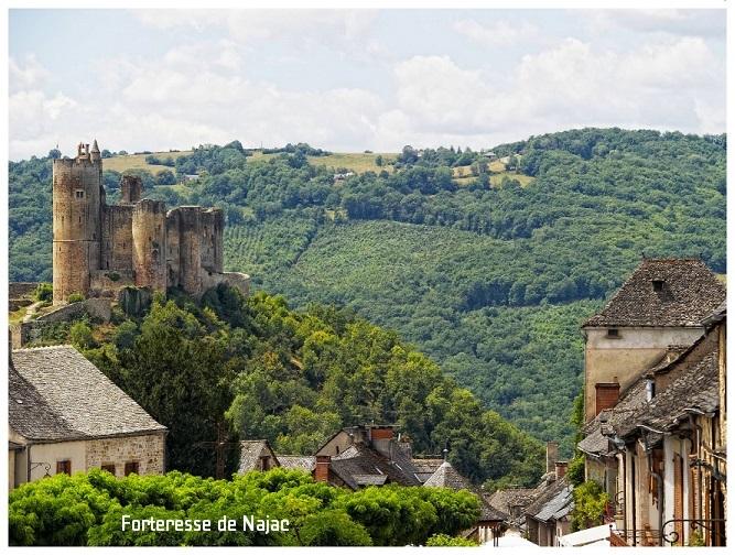 chateau de najac, aveyron