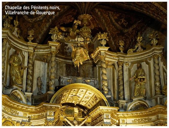chapelle des pénitents noirs, villefranche-de-rouergue