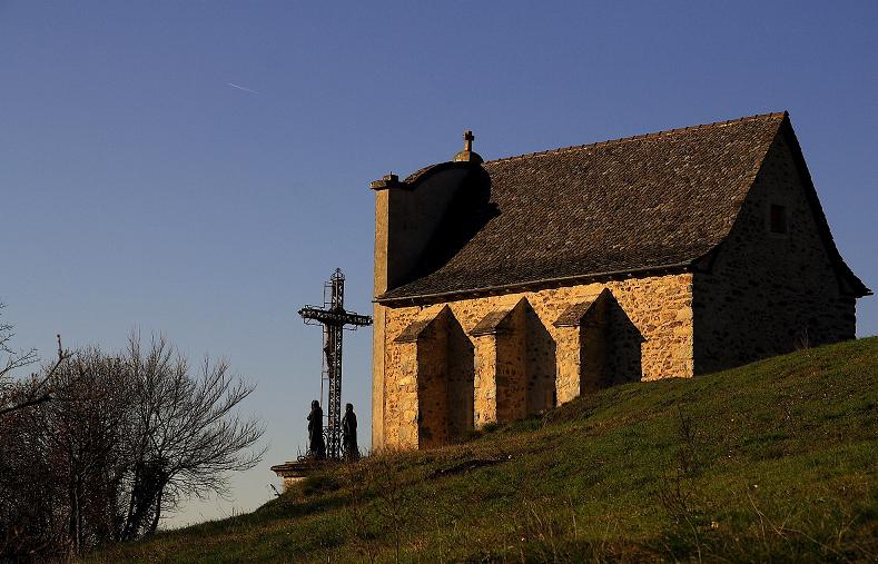 chapelle du calvaire saint jean d'aigremont villefranche-de-rouergue