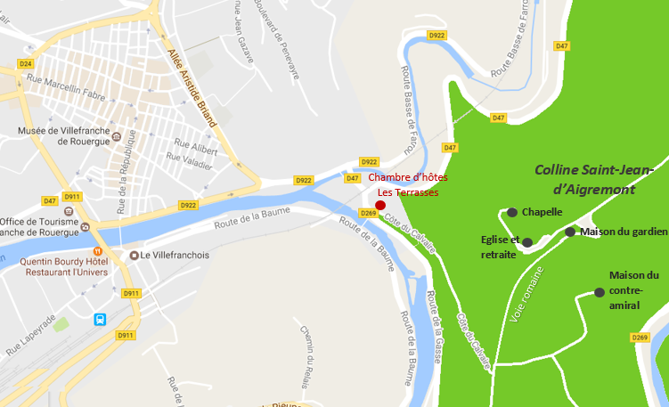 colline du calvaire saint jean d'aigremont villefranche de rouergue