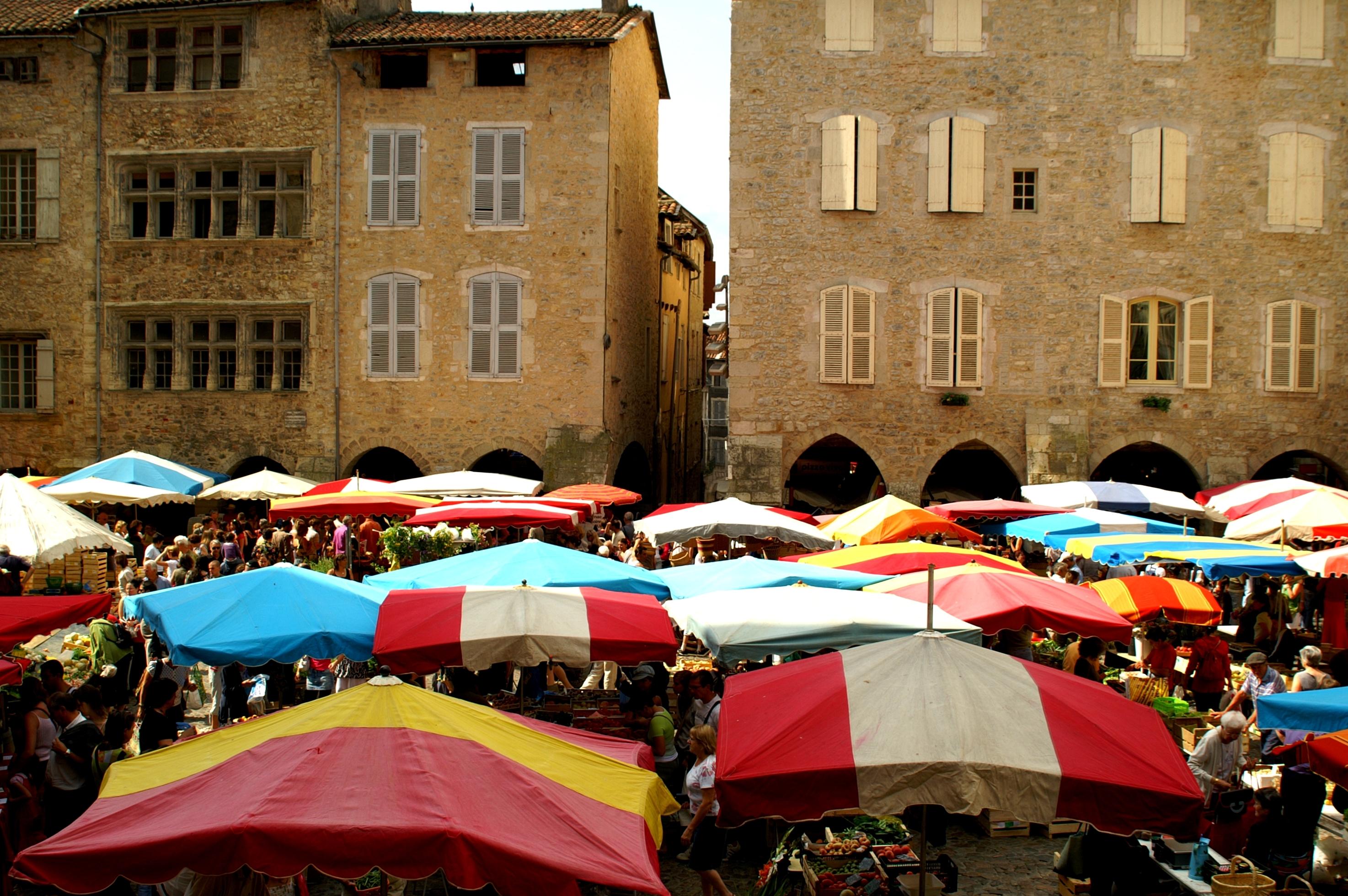marché du jeudi villefranche de rouergue