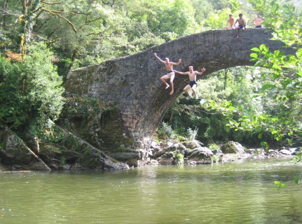 pont du cayla villefranche de rouergue baignade